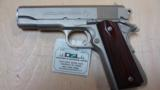 COLT COMBAT COMMANDER 70 SERIES 45ACP SATIN NKL FINISH MINTY - 1 of 2