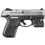 RUGER KSR40C-CTL (KSR40 COMPACT) .40 CAL W/ CRIMSON TRACE LIGHT NEW IN BOX SKU 03480 - 1 of 1