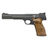 "SMITH AND WESSON S&W MODEL 41 TARGET .22 LR 7"" BBL SKU 130512"