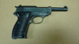 MAUSER BYF-42 STANDARD ISSUE 9MM E/135 (EAGLE OVER 135 EARLY PROOF!!!) W/ HOLSTER - 2 of 14