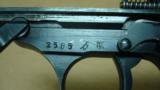 MAUSER BYF-42 STANDARD ISSUE 9MM E/135 (EAGLE OVER 135 EARLY PROOF!!!) W/ HOLSTER - 5 of 14