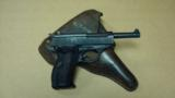 MAUSER BYF-42 STANDARD ISSUE 9MM E/135 (EAGLE OVER 135 EARLY PROOF!!!) W/ HOLSTER - 1 of 14
