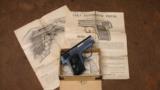 COLT 1908 VEST POCKET .25 ACP W/ ORIGINAL BOX + PAPERS 1916 YEAR - 1 of 8