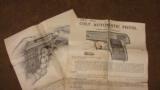 COLT 1908 VEST POCKET .25 ACP W/ ORIGINAL BOX + PAPERS 1916 YEAR - 8 of 8