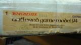 WINCHESTER MOD 94 ANTLERED GAME COMMERATIVE 30-30 20