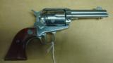 RUGER VAQUERO STAINLESS 45LC 4 3/4