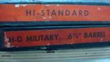 MINTY HI STANDARD HD MILITARY 22 W/ BOX - 3 of 3