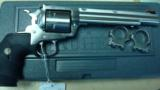 RUGER NM BLACKHAWK HUNTER STAINLESS IN 45LC 7 1/2