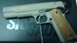 SIG SAUER 1911 22 IN FDE CHEAP W/ 4 MAGS - 1 of 2