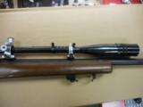 WINCHESTER MOD 52C 22CAL TARGET RIFLE W/ 20X TARGET SCOPE - 1 of 3