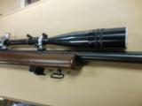WINCHESTER MOD 52C 22CAL TARGET RIFLE W/ 20X TARGET SCOPE - 3 of 3