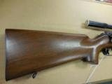 WINCHESTER MOD 52C 22CAL TARGET RIFLE W/ 20X TARGET SCOPE - 2 of 3