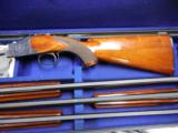 WINCHESTER 101 SMALL GUAGE SKEET SET 20-28-410 IN LUGGAGE CASE - 1 of 4
