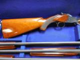 WINCHESTER 101 SMALL GUAGE SKEET SET 20-28-410 IN LUGGAGE CASE - 4 of 4