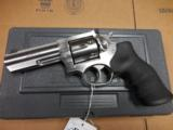"RUGER KGP141 GP100 STAINLESS 357MAG 4"" AS NEW IN BOX - 1 of 2"