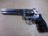 "S&W MOD 686 STAINLESS 357MAG 6"" BBL PRE LOCK LIKE NEW - 1 of 2"