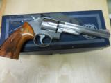 "S&W MOD 66-1 STAINLESS 357MAG 6"" IN ORIG BOX - 1 of 2"