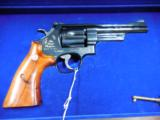 """SMITH AND WESSON S&W MOD 27 ANNIVERSARY .357 MAG 5"""" 1935-1985 REVOLVER IN PRES CASE - 1 of 2"""