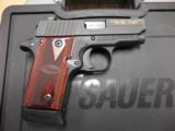 SIG SAUER P238 LIBERTY 380 AS NEW IN BOX SKU 238-380-LIB - 1 of 2