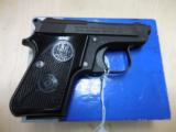 BERETTA 950BS 25ACP LIKE NEW IN BOX - 1 of 2