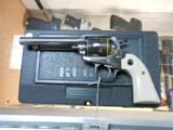 RUGER NEW MODEL VAQUERO BISLEY MODEL STAINLESS .357 SKU 05130 AS NEW W/ BOX - 2 of 3