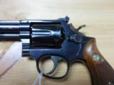 SMITH AND WESSON S&W MODEL 14 TARGET .38 SPL 6
