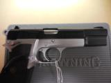 BROWNING HI POWER PRACTICAL TWO TONE .40 W/ BOX + PAPERS AS NEW CONDITION!!! - 2 of 4