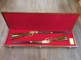 WINCHESTER 1894 + 9422 MATCHED SET ONE OF ONE THOUSAND 30-30 & .22 MAG