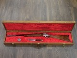 BROWNING B78 BICENTENNIAL 1876-1976 SET OF 78 HIGHLY ENGRAVED RIFLE + KNIFE .45-70 W/ PRESENTATION CASE