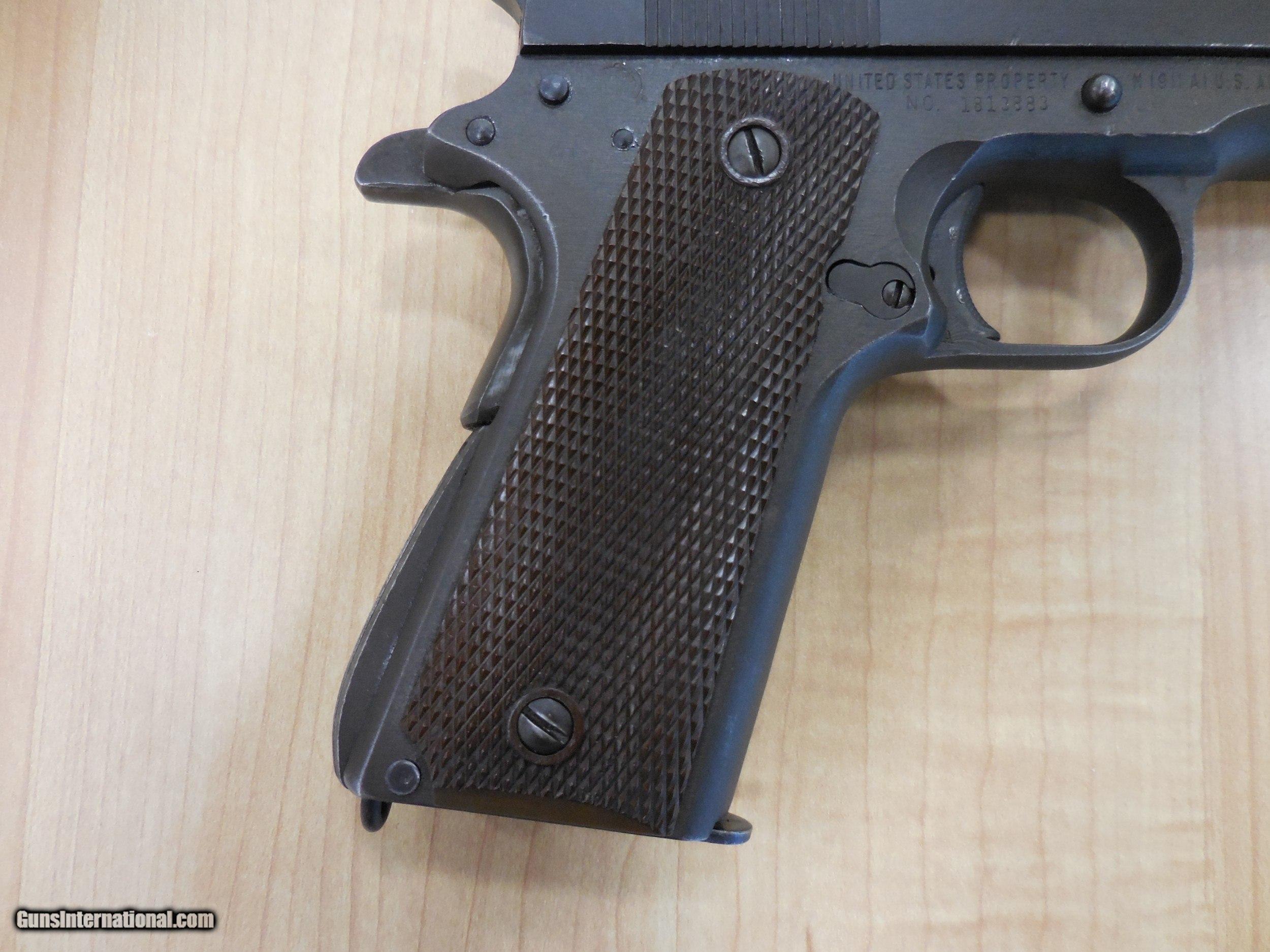 Remington Rand M1911a1 U S Army 1911a1 45 Acp Type 2