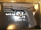 SIG SAUER 2022 9MM W/ LASER LIKE NEW