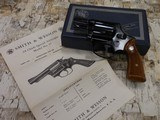 SMITH AND WESSON S&W MODEL 37 NO DASH .38SPL AIRWEIGHT AS NEW IN BOX W/ PAPERWORK