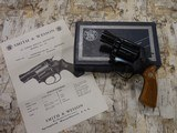 SMITH AND WESSON S&W MODEL 36 NO DASH CHIEF'S SPECIAL .38SPL AS NEW IN BOX W/ PAPERWORK