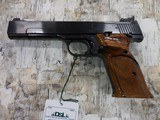 """EAQRLY S&W MOD 41 TARGET 22CAL 5 1/2"""" BBL W/ COCKING INDICATOR"""