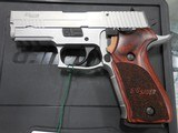 SIG SAUER P220 SS CARRY ELITE 45ACP AS NEW IN BX