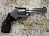 """S&W MOD 686 STAINLESS 357MAG 7 SHOT 5"""" BBL UNFLUTED CYLINDER - 1 of 2"""