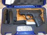 S&W M&P COMPACT 9MM W/ LASER CHEAP - 1 of 2