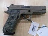 "SIG SAUER P220 SCORPION 45ACP 4"" LIKE NEW"