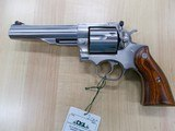 """RUGER STAINLESS REDHAWK 44MAG 5 1/2"""" MINTY"""