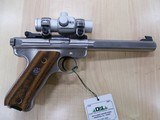 RUGER MKII COMPETITION SLABSIDE SS 22CAL