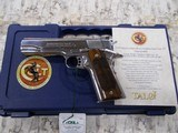 COLT TALO NATIONAL MATCH GOLD CUP ROYAL STAINLESS 1 OF 400 45ACP