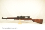 Springfield Armory M1D Garand Sniper w M84 Telescope 1951 Barrel CMP Cert.