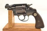 Colt Detective Special 1934 with Box .38 Special