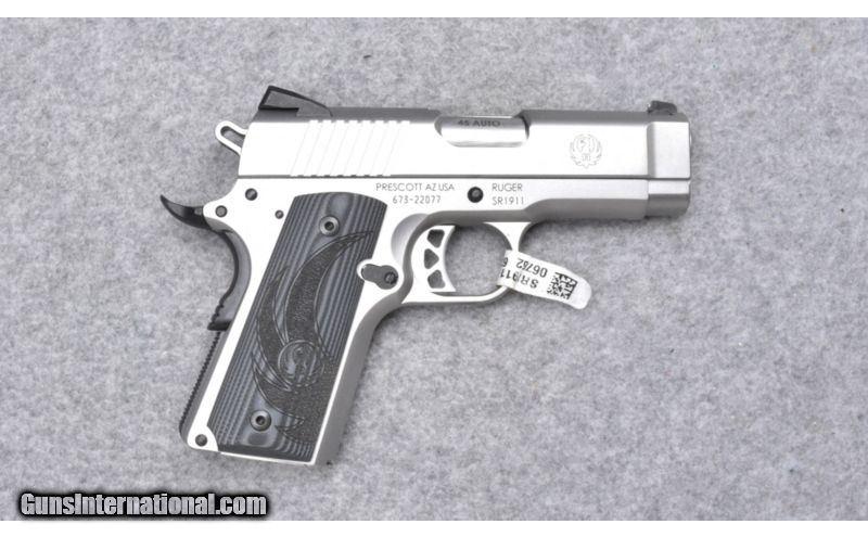 Ruger ~ SR1911 ~  45ACP for sale