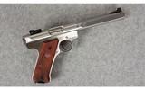 Ruger ~ Mark III Target ~ .22LR