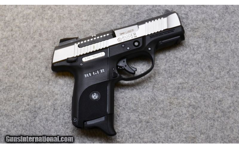 Ruger Sr9c Compact Two Tone 9mm