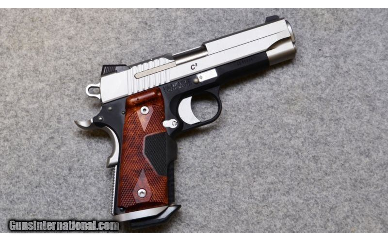 Sig Sauer ~ 1911 Compact C3 Two-Tone ~  45 ACP