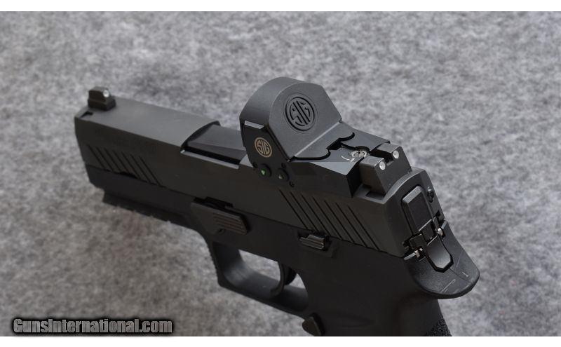 Sig Sauer ~ P320 RX Compact ~ 9 x 19mm
