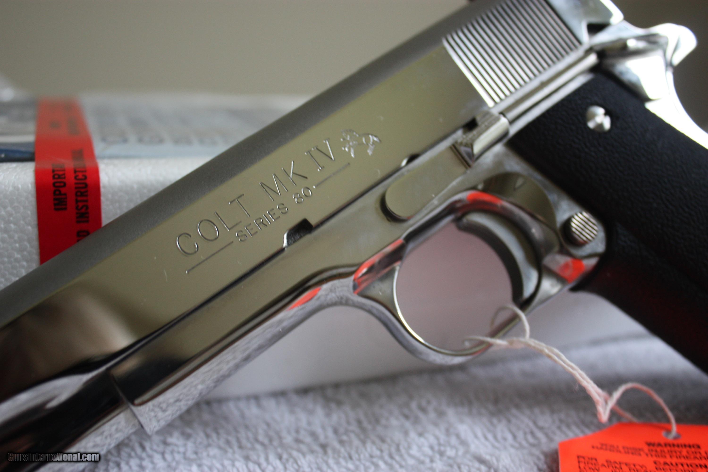 Colt Government Mk Iv Bsts Series 80 45acp Nib 6367 5 Of 16