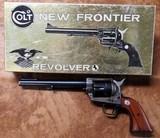 Colt Single Action New Frontier.357 MagGold & Black box circa 1963